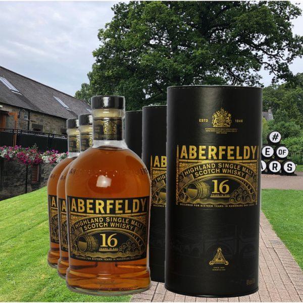 Aberfeldy16 years at Distillery