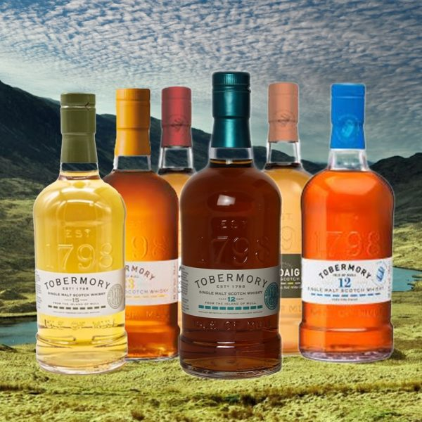 Tobermory 12 years single malt with collection