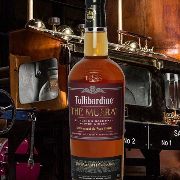Tullibardine Le Murray in Distillery