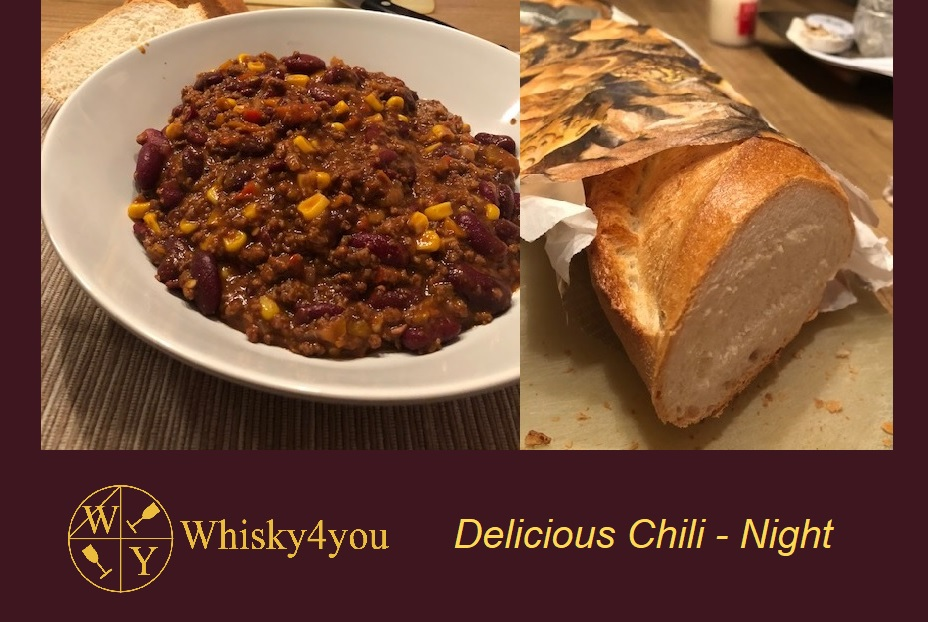 Whisky4you Chili recipe