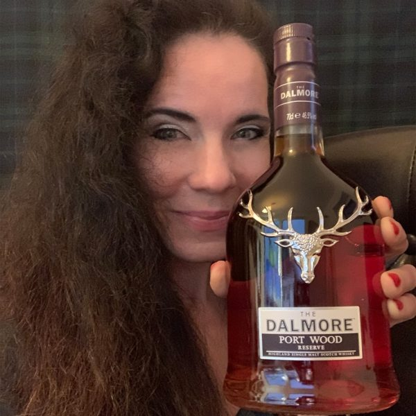 Dalmore Portwood Reserve with lady