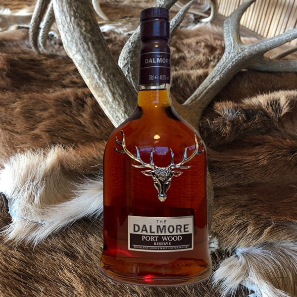 Dalmore Portwood Reserve with antler