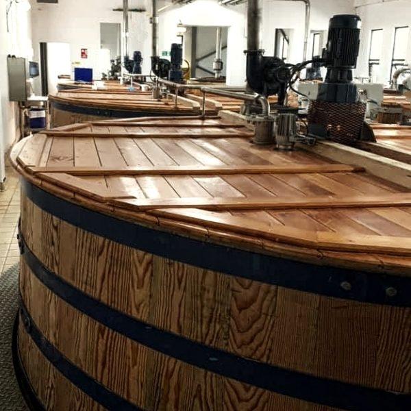 Talisker Distillery Washbacks