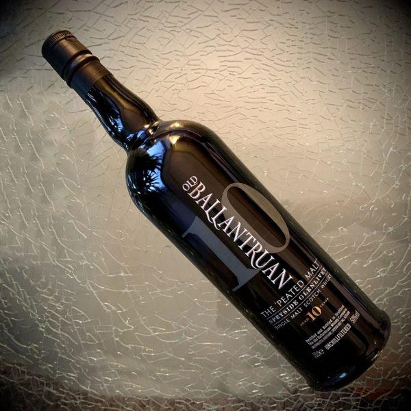 Old Ballantruan single malt black bottle