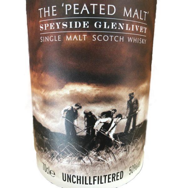 Old Ballantruan single malt label picture