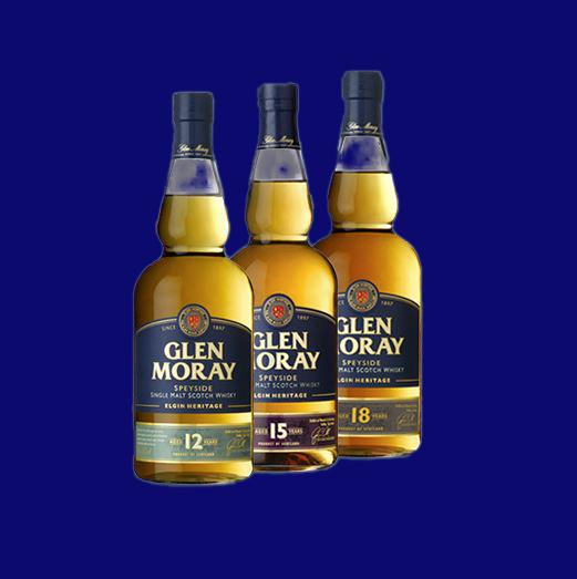 Elgin Heritage Collection with Glen Moray 15 years single malt