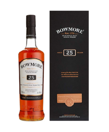 Bowmore 25 years single malt