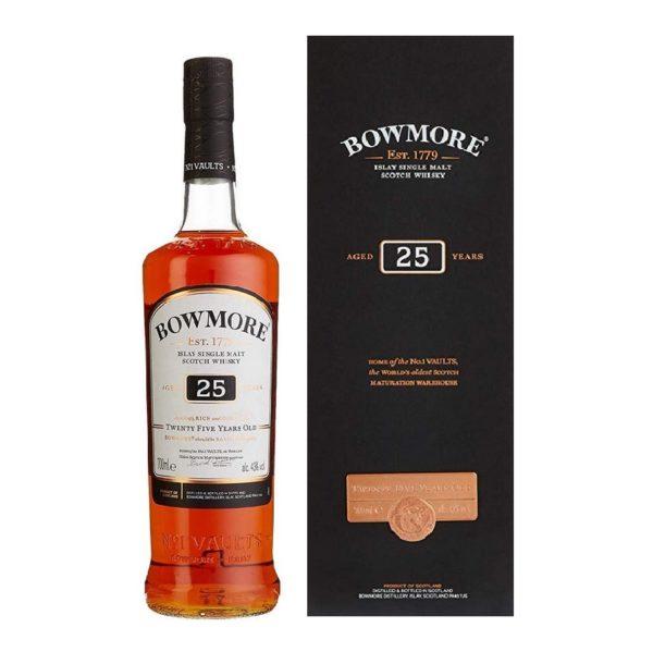Bowmore 25 years single malt