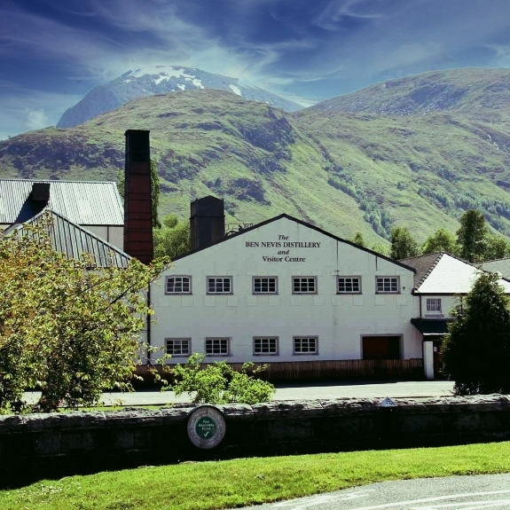Ben Nevis Distillery in the Highlands of Scotland