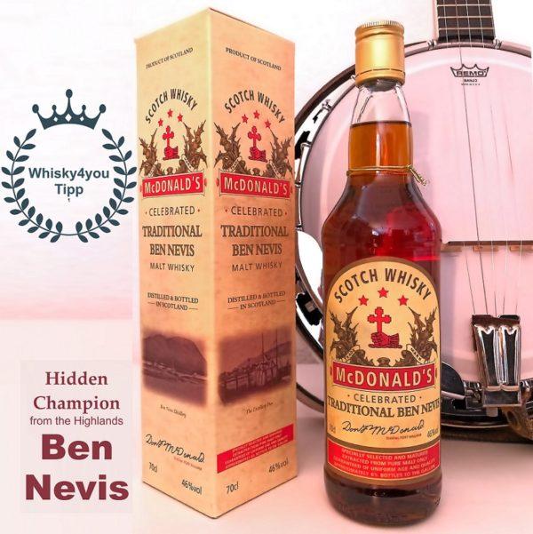 Ben Nevis Traditional Hidden Champion with Banjo