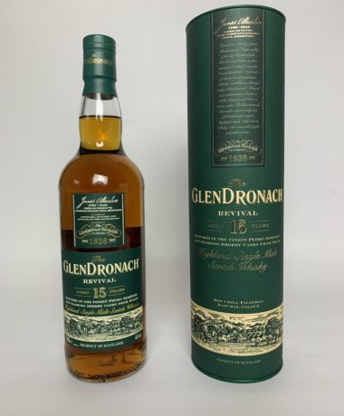 Glen Dronach 15 years Revival Single Malt Scotch