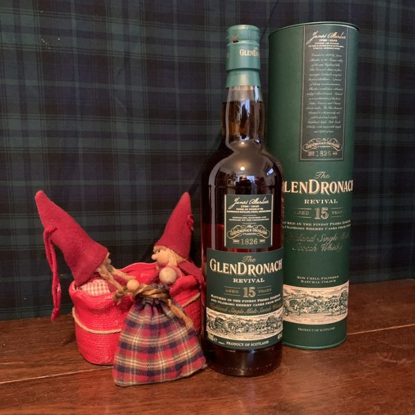 GlenDronach 15 years single malt winter time