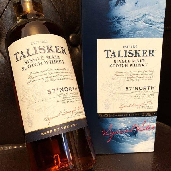 Talisker 57° North Single Malt Labels front