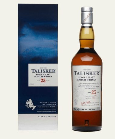 Talisker 25 years Single Malt Scotch
