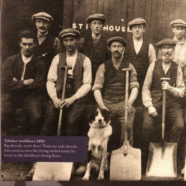 Talisker historic workers