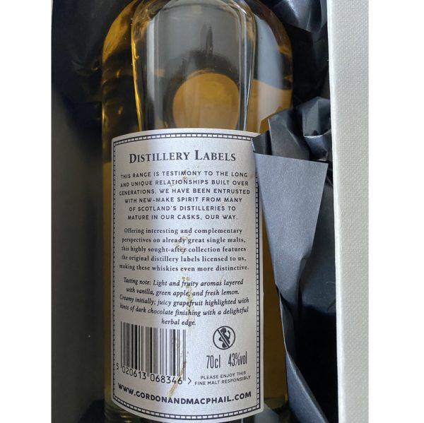 Scapa Distillery Label Last Bottle Label Backside