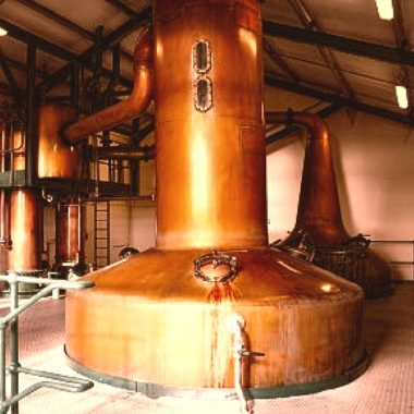 Lomond Still at Scapa Distillery in North Scotland