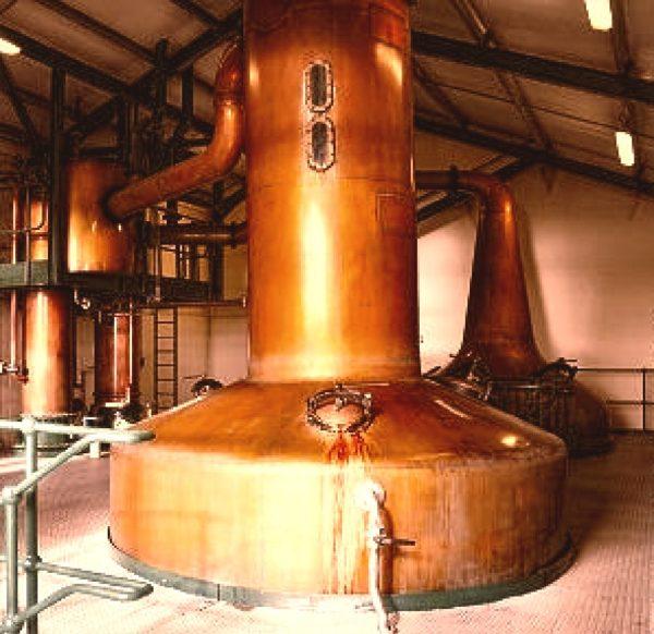 Lomond Still at Scapa Distillery in North Scotland