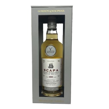 Scapa Distillery Label 2005, single malt from the Orkney Islands