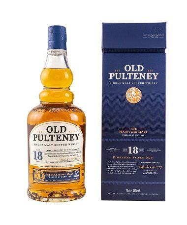 Old Pulteney 18 years single malt