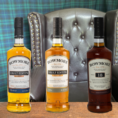 Collection of 3 Bowmore Single Malts