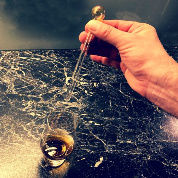 Whisky Pipette dosing fresh water