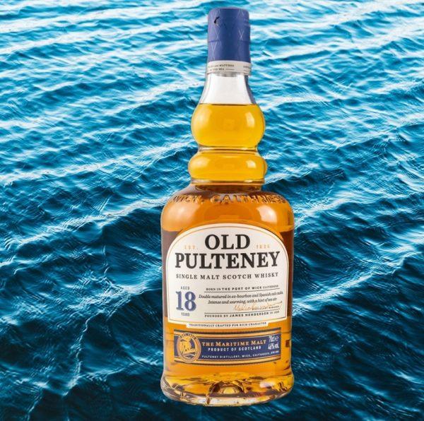 Old Pulteney the maritime malt, original single malt scotch