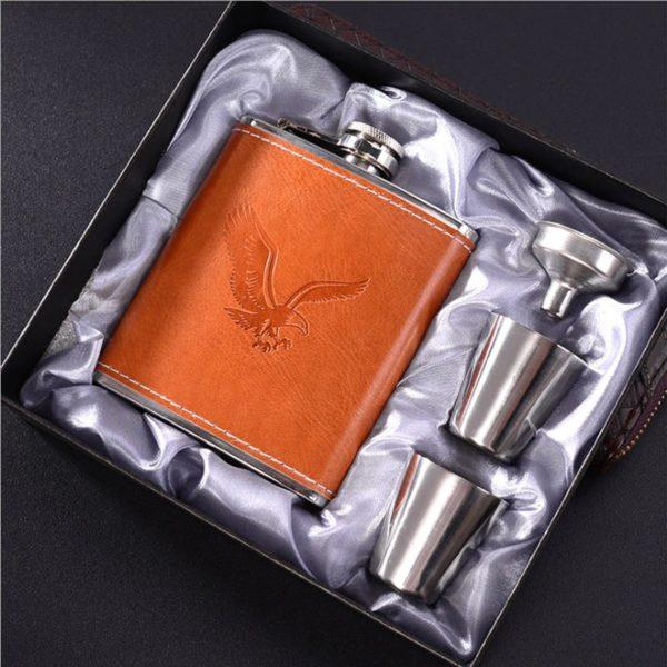 Whisky Travel Set in gift box