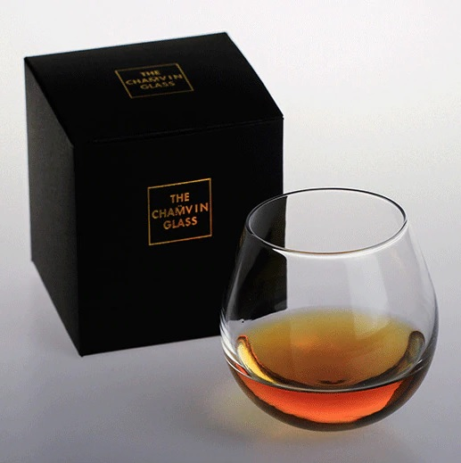 Slow Roll Whisky Glass with gift package