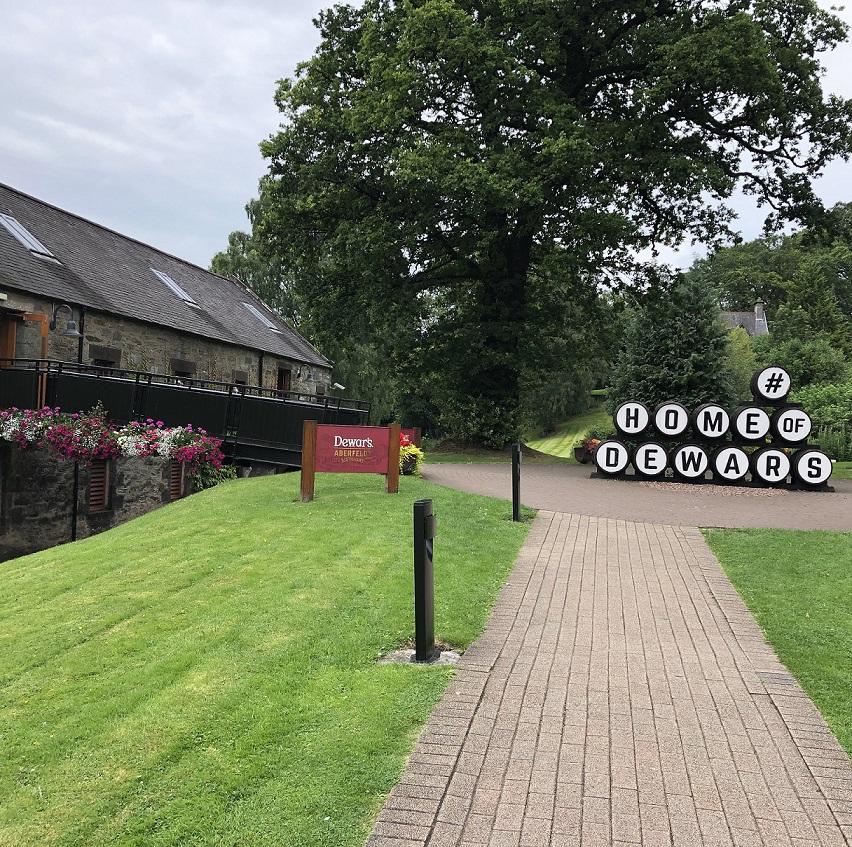 Aberfeldy Distillery Dewars Home