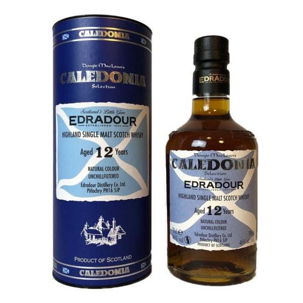 Caledonia 12 years Single Malt, great Scotch from the Highlands!