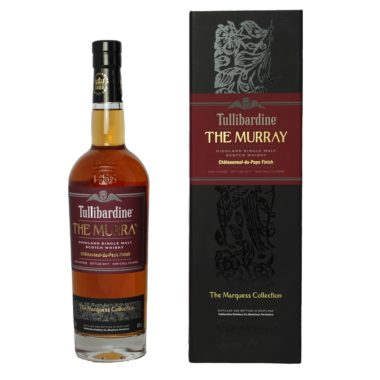 Tullibardine The Murray 2018 is a noble Single Malt with a mixture of youthful temperament, intensity and a certain finess-rich maturity.