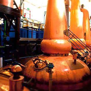 Tobermory stills producing high quality single malt