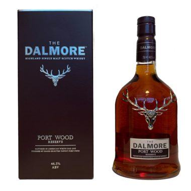 Dalmore Port Wood Reserve is a unique single malt, which was matured in American oak barrels and special port wine casks from Portugal.