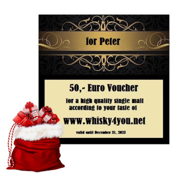 Whisky Voucher from Whisky4you for Santa Clause