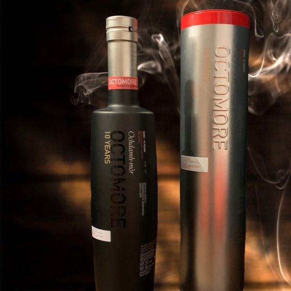 Octomore 10 years Single Malt - Second Limited Edition, smokey whisky