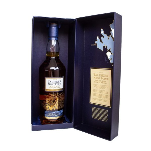 Talisker Neist Point single Malt Whisky in noble package